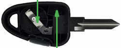 Iveco Eurocargo key transponder location GT10RS1