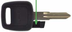 Subaru Impreza key NSN11T