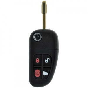 Jaguar X-Type three button remote with flip key FO21