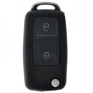 Vauxhall Corsa two button remote with flip key HU46