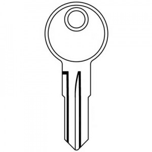 Bailey caravan and motorhome key LF12