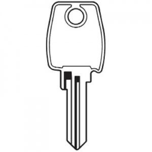 Steel Line Roller Garage Door Lock Key Cut to key code or digital picture