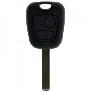 Citroen Berlingo two button remote key case VA2T